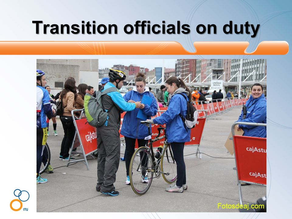 Transition officials on duty