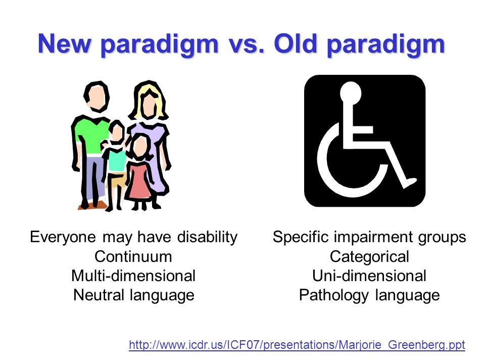 New paradigm vs.