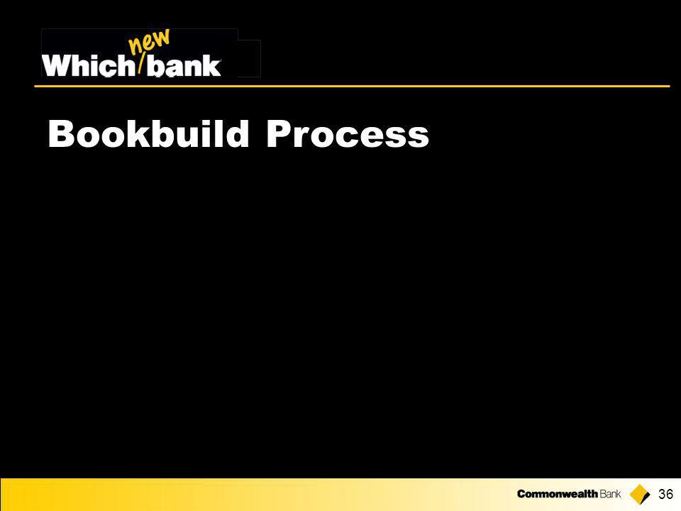36 Bookbuild Process