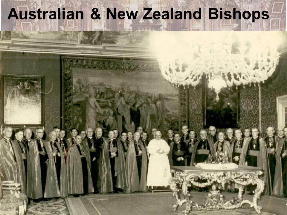 Australian & New Zealand Bishops