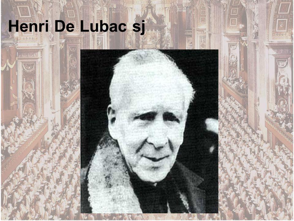 Henri De Lubac sj
