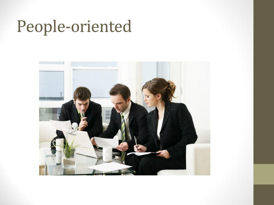 People-oriented