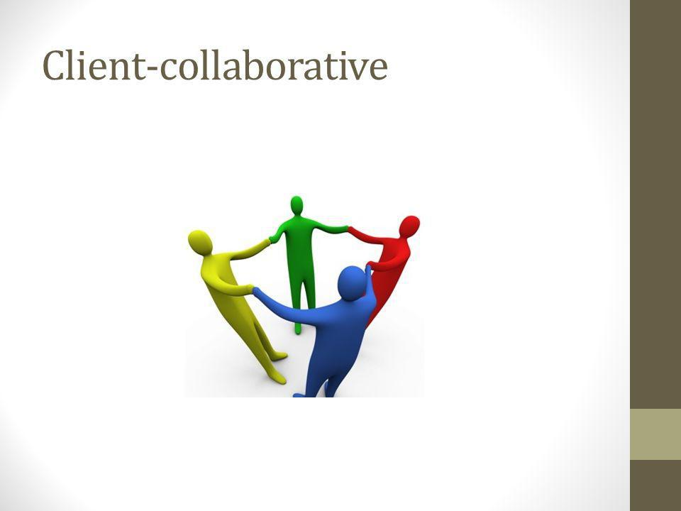 Client-collaborative