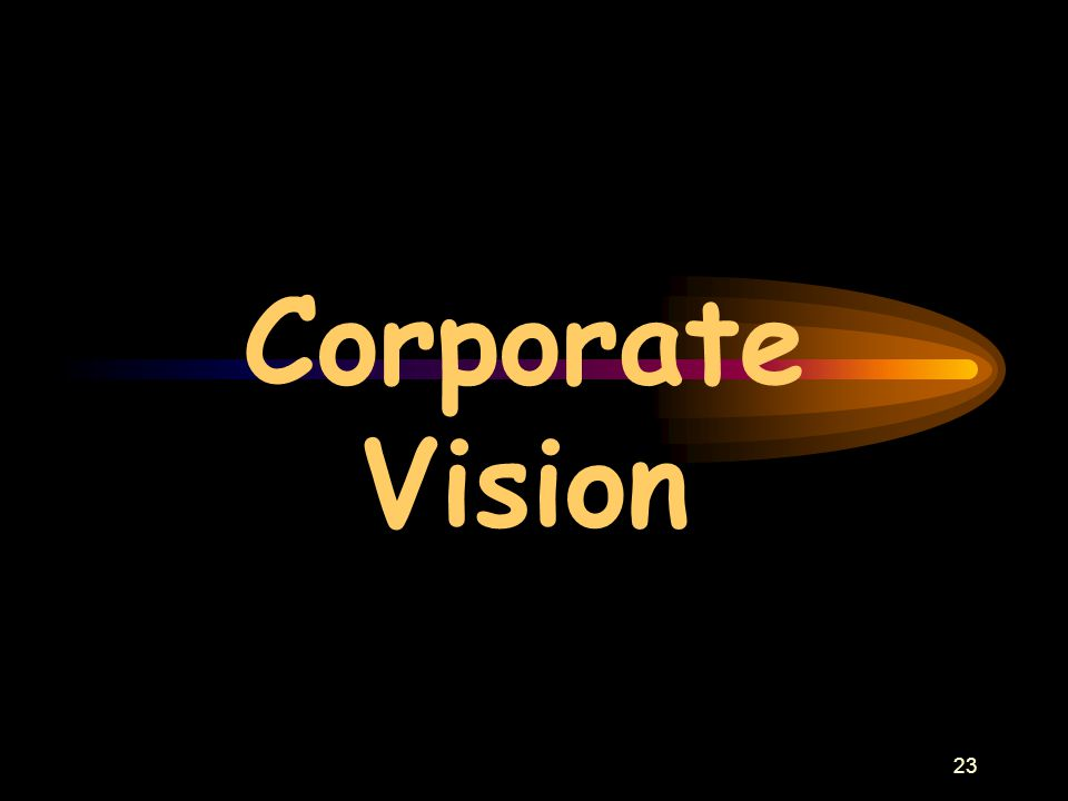 23 Corporate Vision