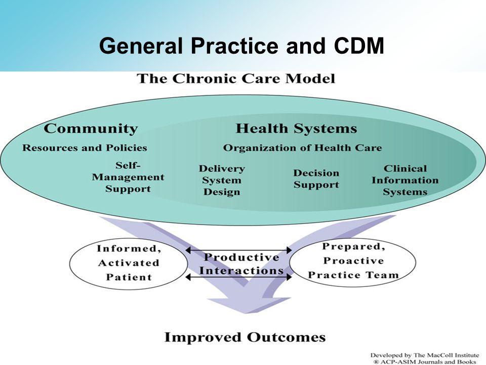 General Practice and CDM
