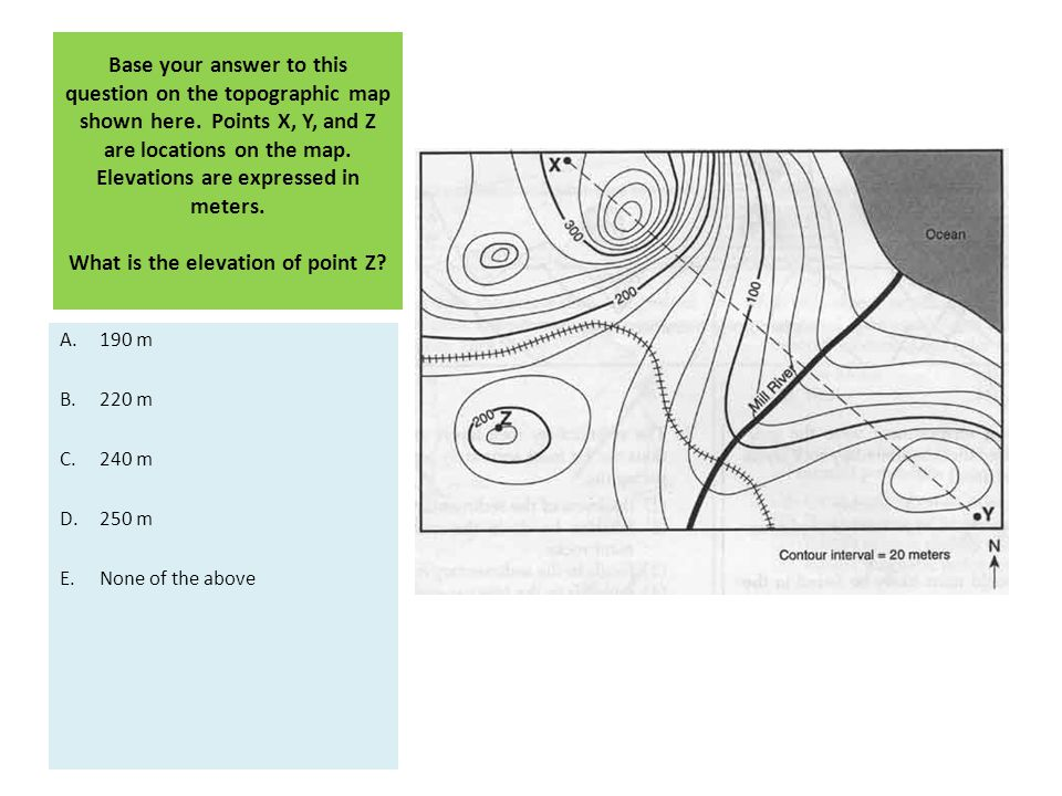 Base your answer to this question on the topographic map shown here.