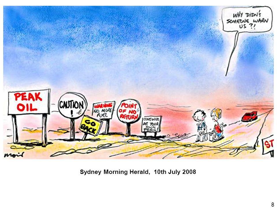 8 Sydney Morning Herald, 10th July 2008