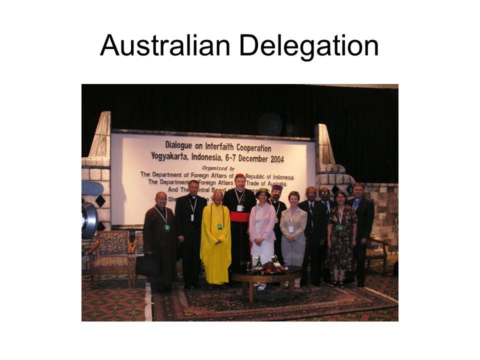 Australian Delegation