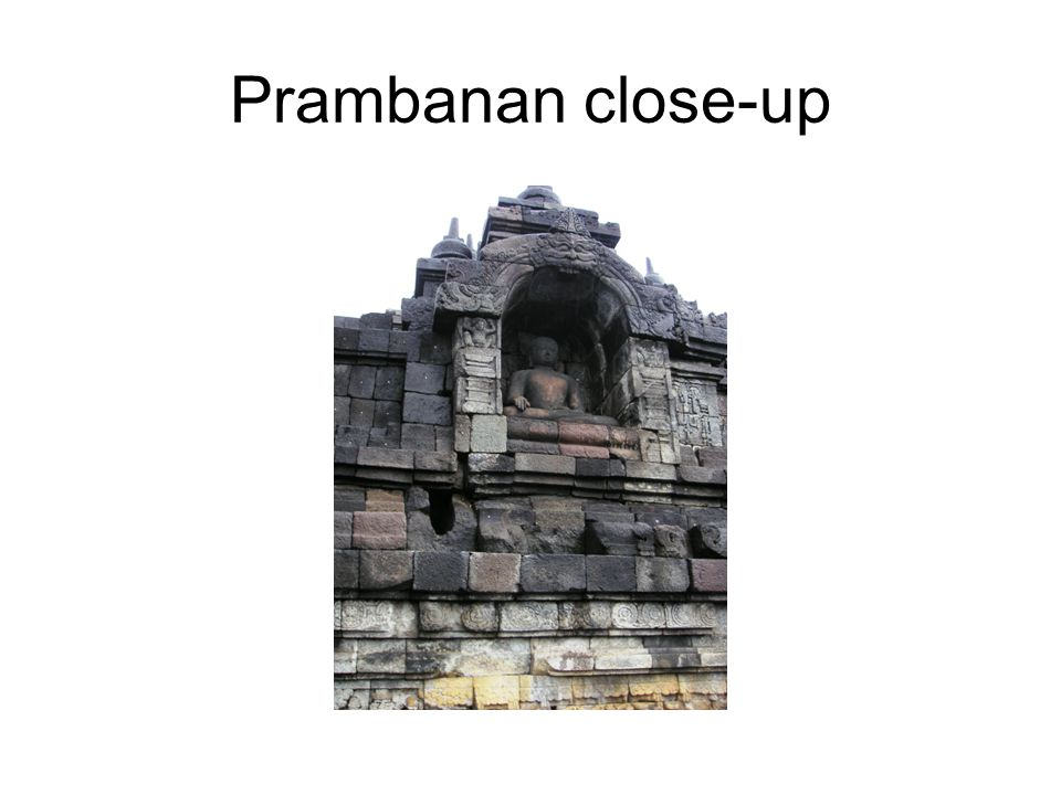 Prambanan close-up