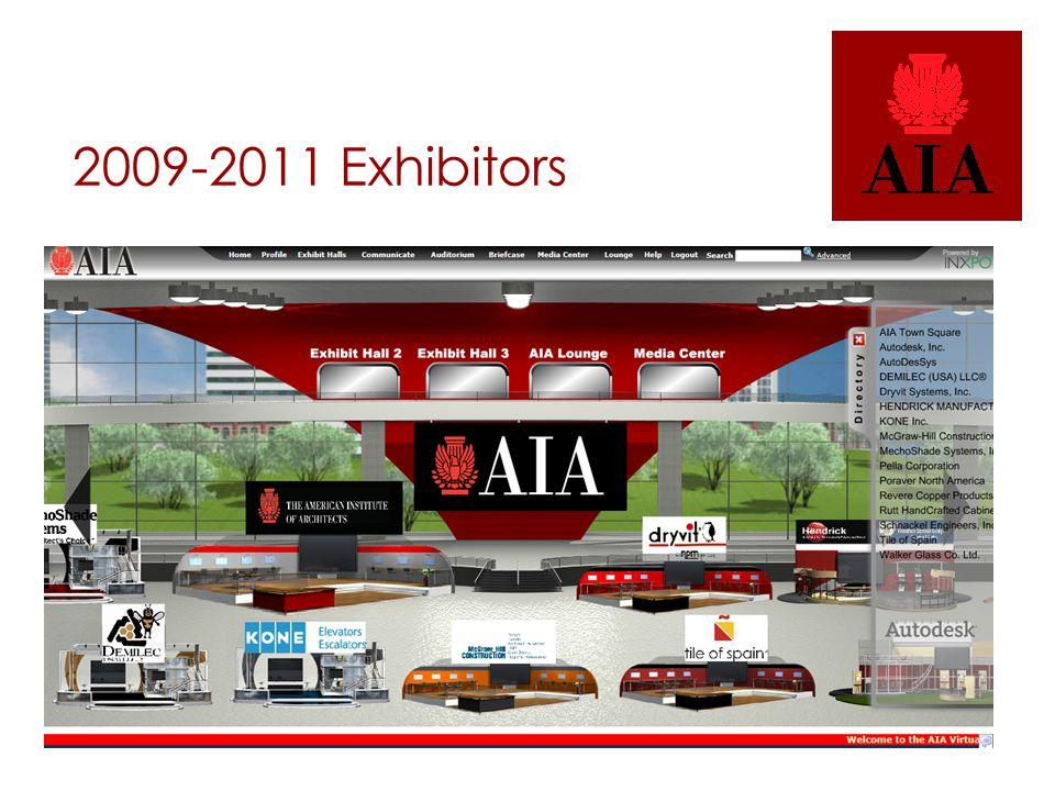 2009-2011 Exhibitors