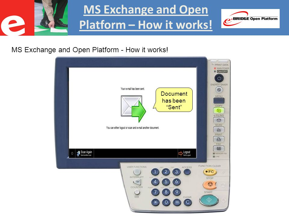 MS Exchange and Open Platform - Benefits Benefits Open Platform Exchange Connector Fully integrates with MS Exchange.