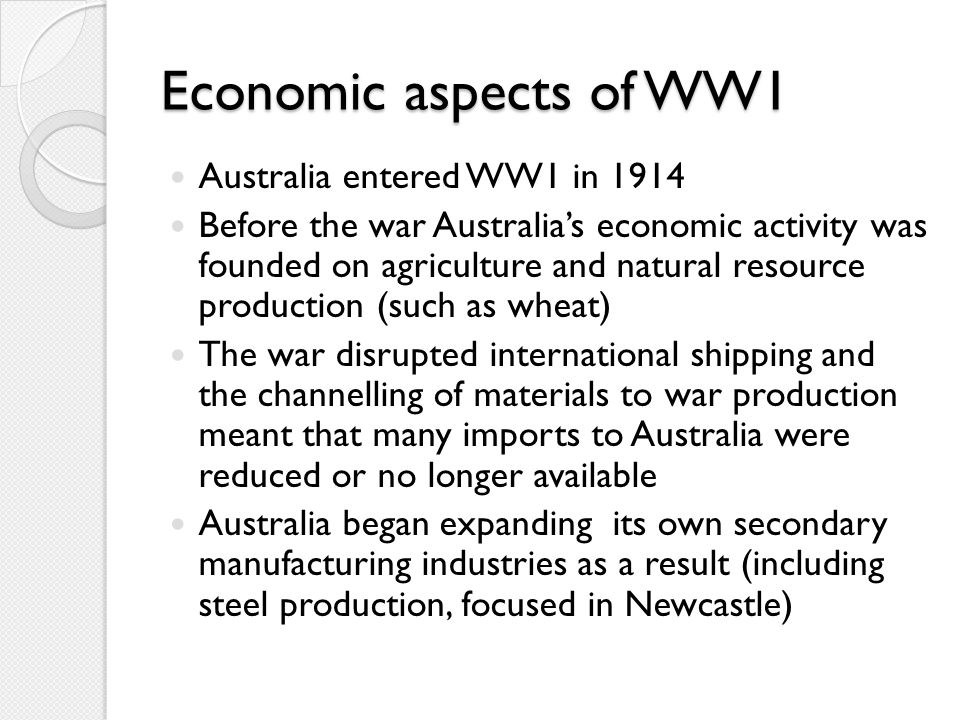 Is war good for the economy.