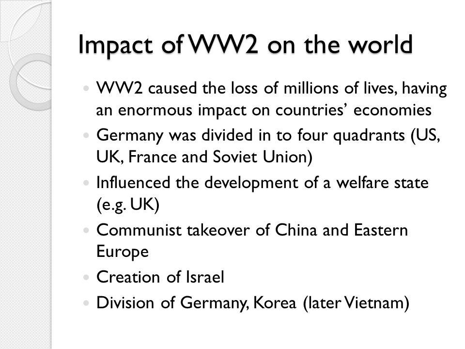 IS WAR ESSENTIAL FOR ECONOMIC DEVELOPMENT? Now consider how you will research this issue...
