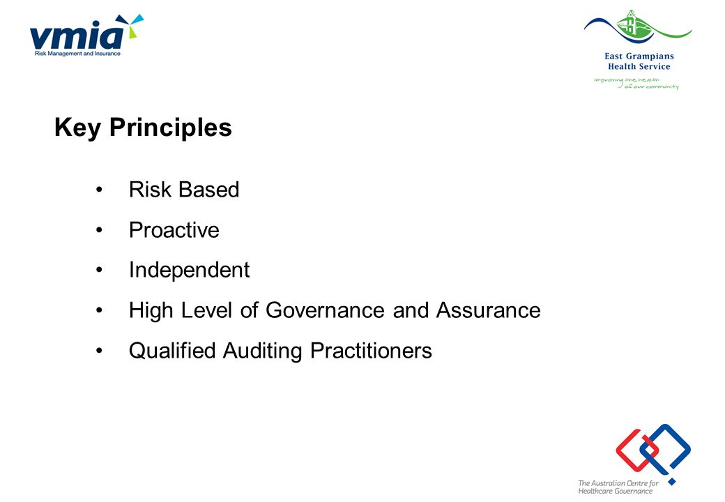 Stage 3: Guidelines for the Internal Audit of Clinical Areas Alison Brown Consultant Australian Centre for Healthcare Governance