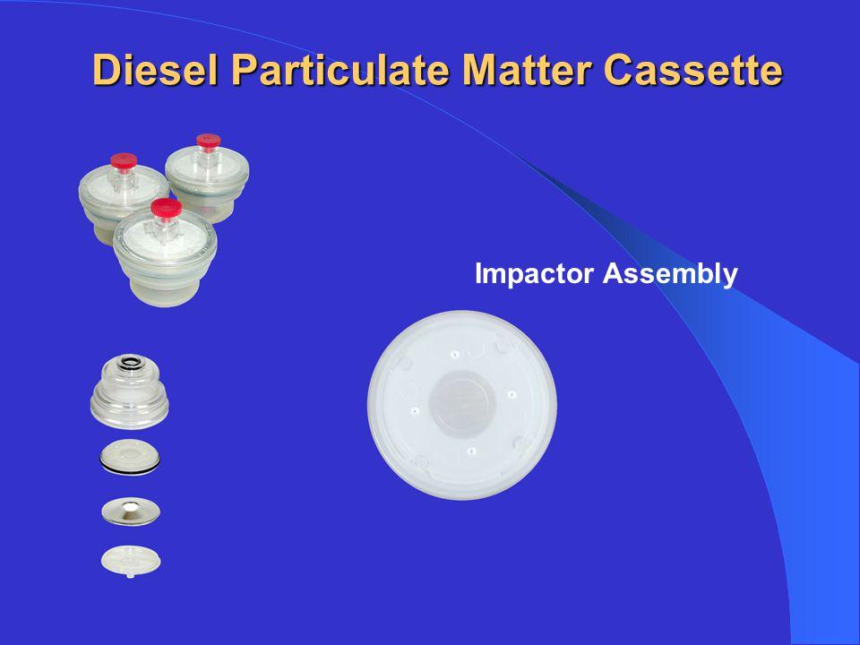 Diesel Particulate Matter Cassette Impactor Assembly