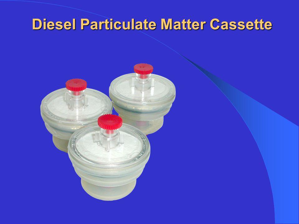 Diesel Particulate Matter Cassette