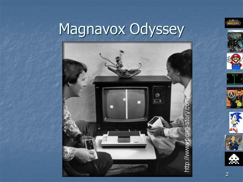 2 Magnavox Odyssey