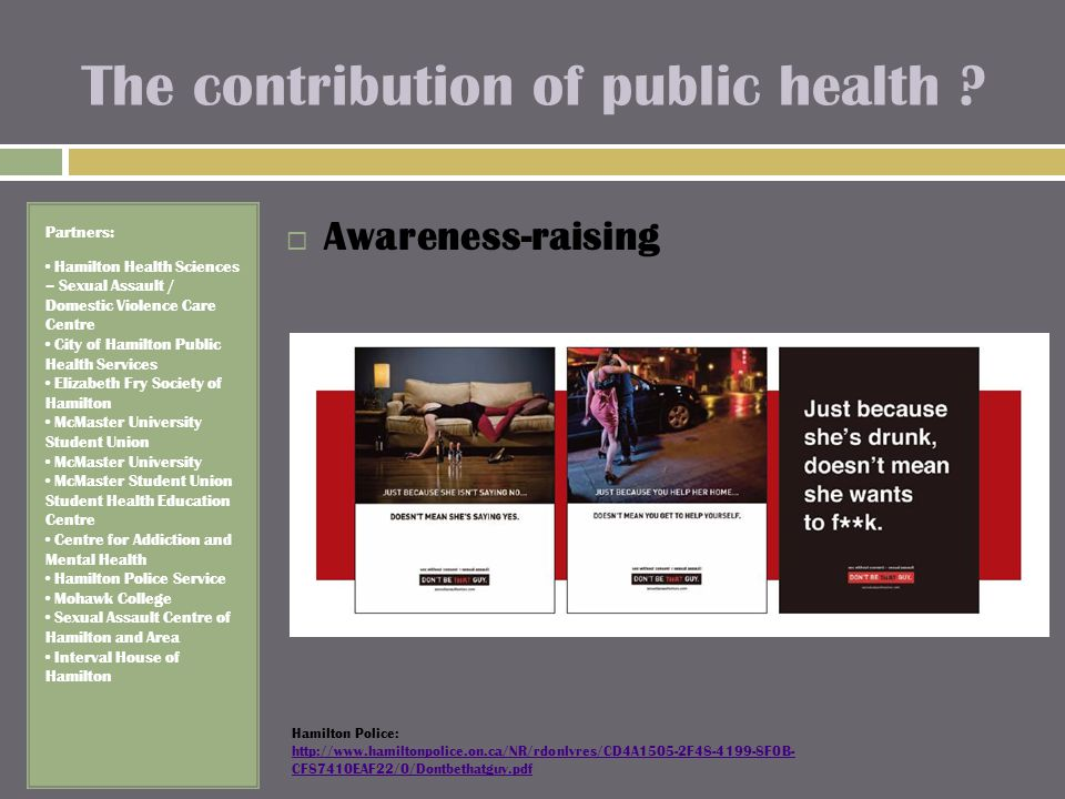 The contribution of public health .