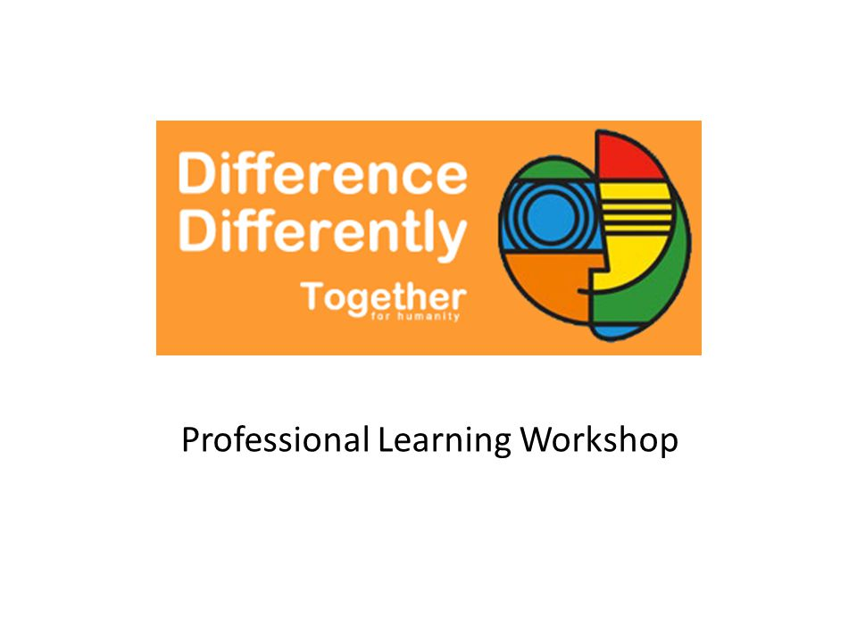 Professional Learning Workshop