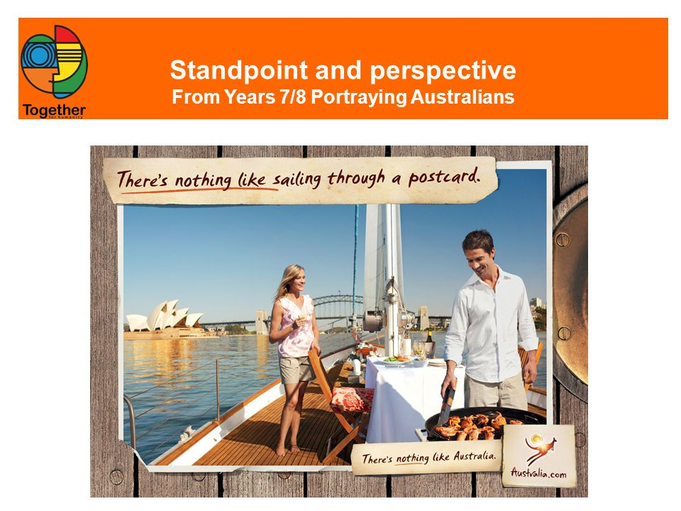 Standpoint and perspective From Years 7/8 Portraying Australians