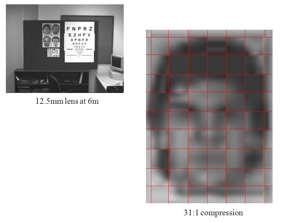 12.5mm lens at 6m 31:1 compression