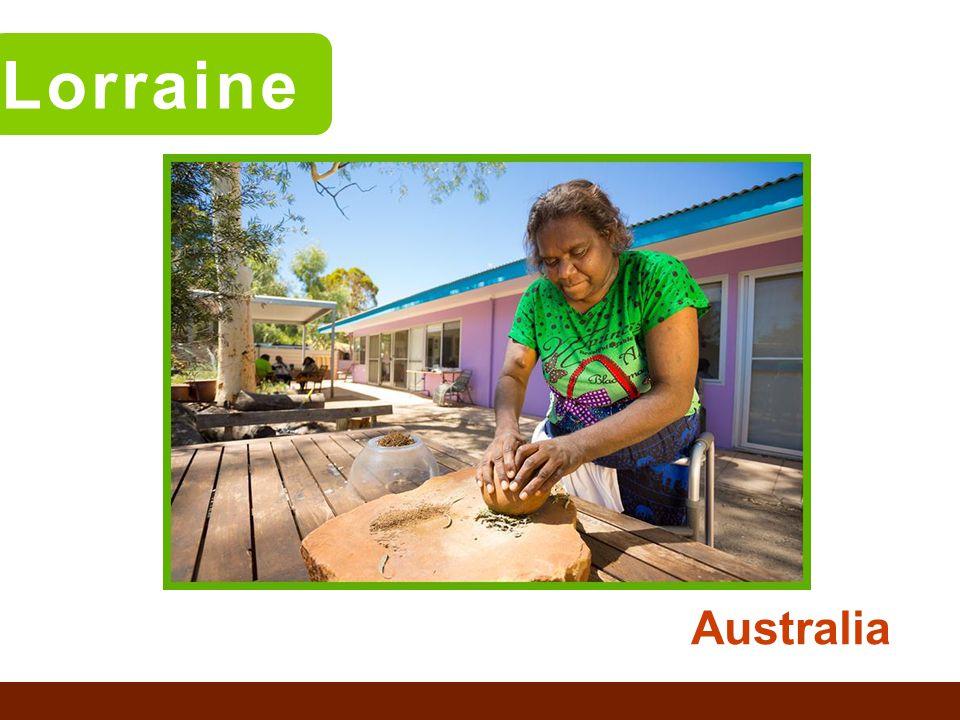 Judy Australia Lorraine