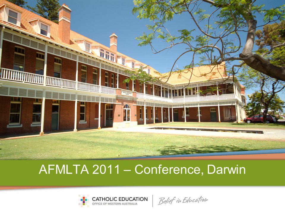 AFMLTA 2011 – Conference, Darwin