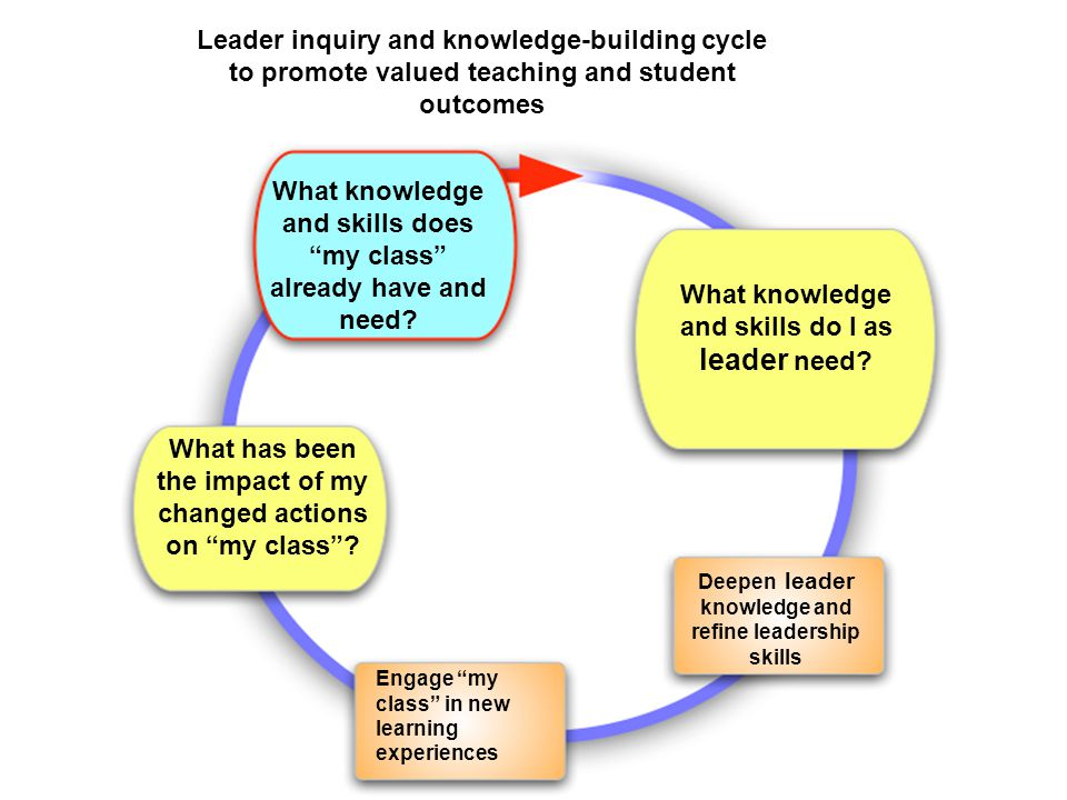 What knowledge and skills does my class already have and need.