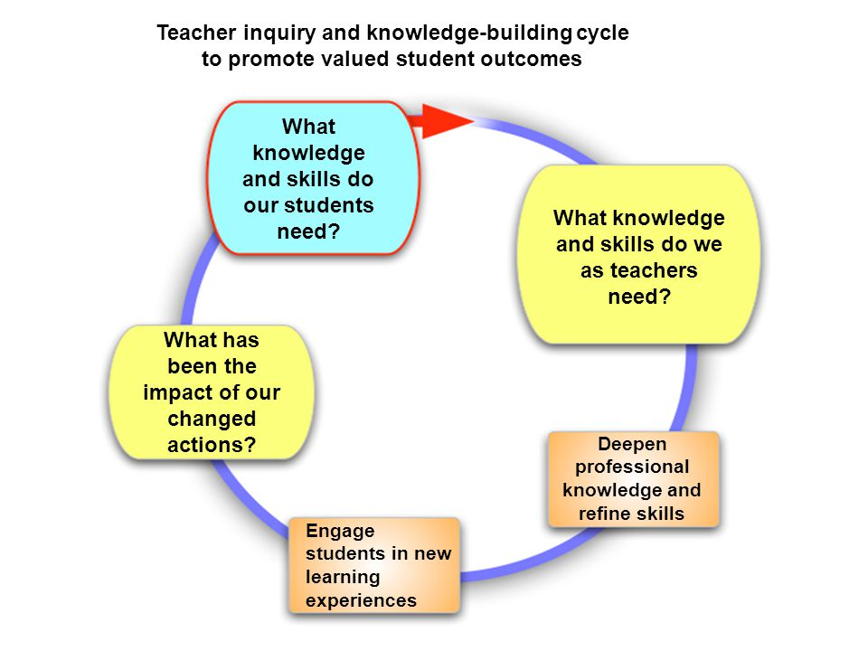 What knowledge and skills do our students need.What knowledge and skills do we as teachers need.