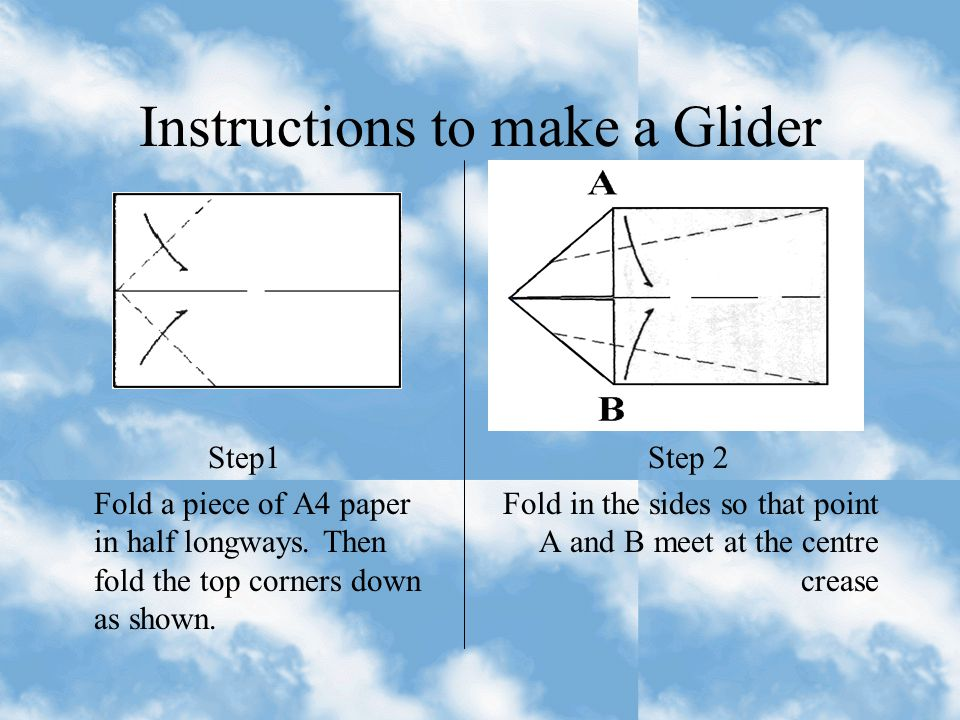 A Glider (A4) Throw just a bit of Force at about a 30 to 40 degree angle toward the sky. The dart, if made correctly should be accurate and travel a l