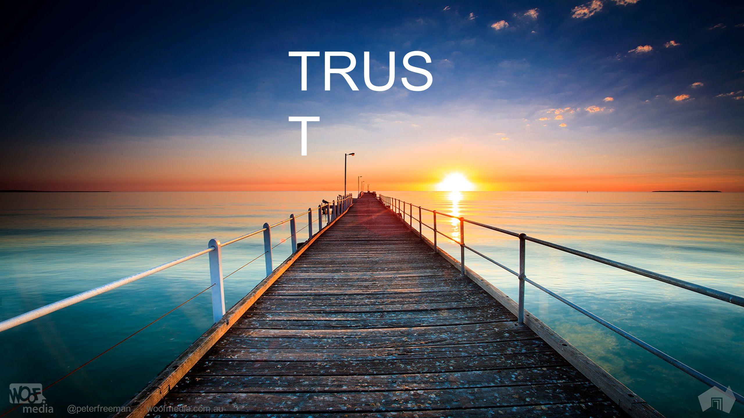 @peterfreemanwoofmedia.com.au TRUS T