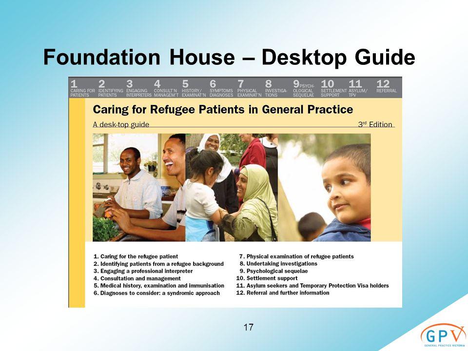 17 Foundation House – Desktop Guide
