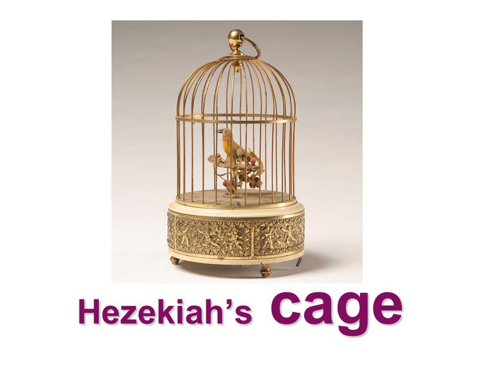 Hezekiah's cage