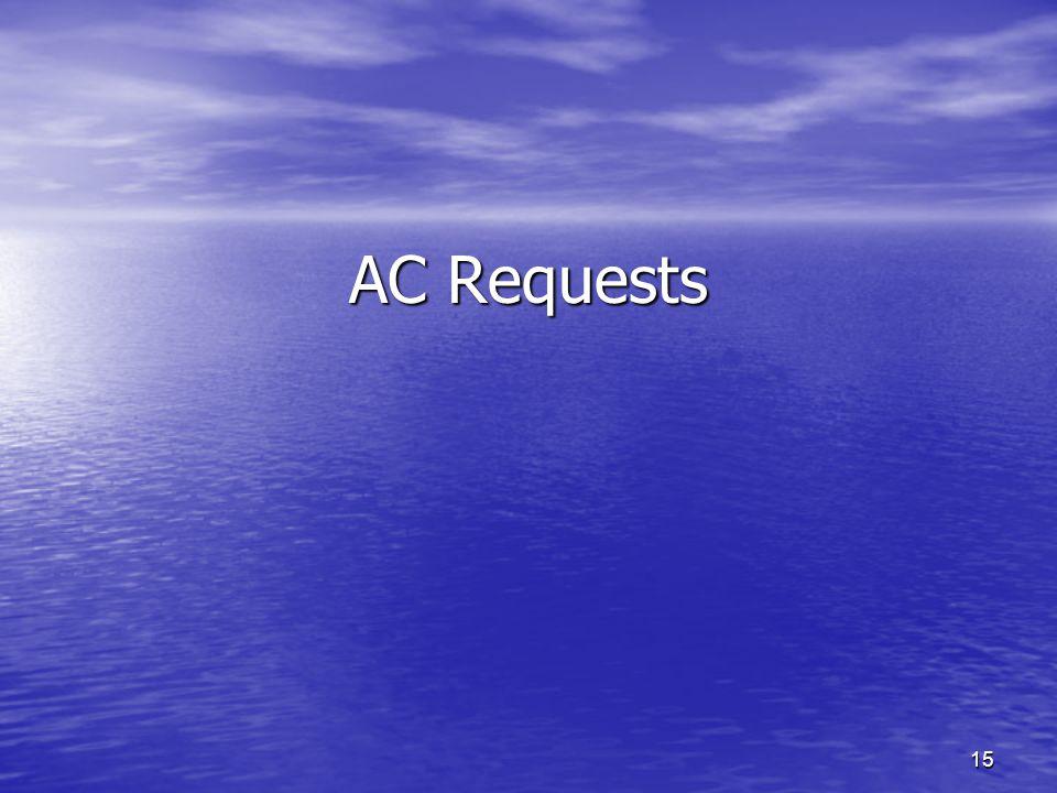 AC Requests 15