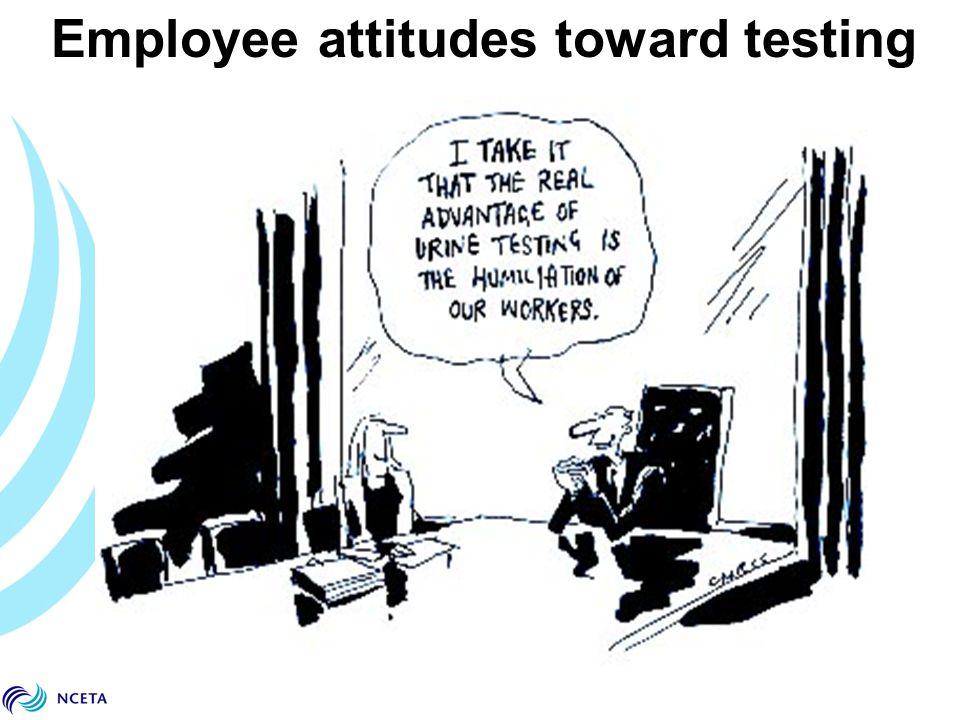 Employee attitudes toward testing