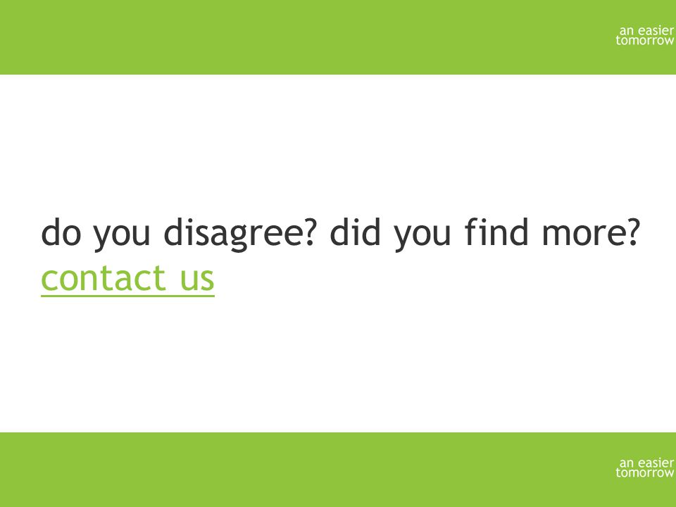 do you disagree did you find more contact us contact us