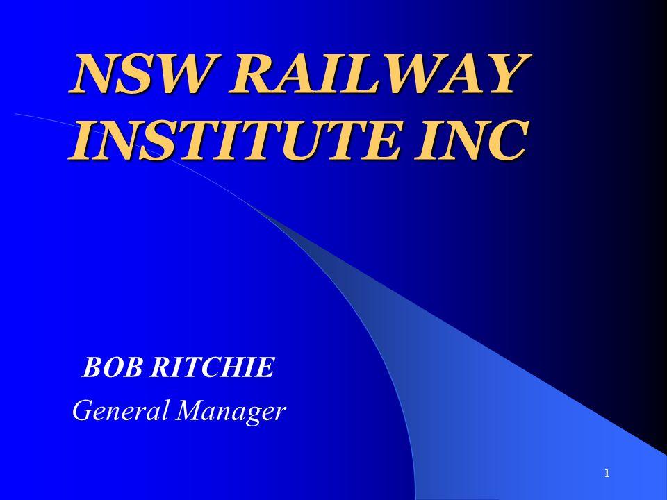 2 ORIGINS OF THE RAILWAY INSTITUTE.
