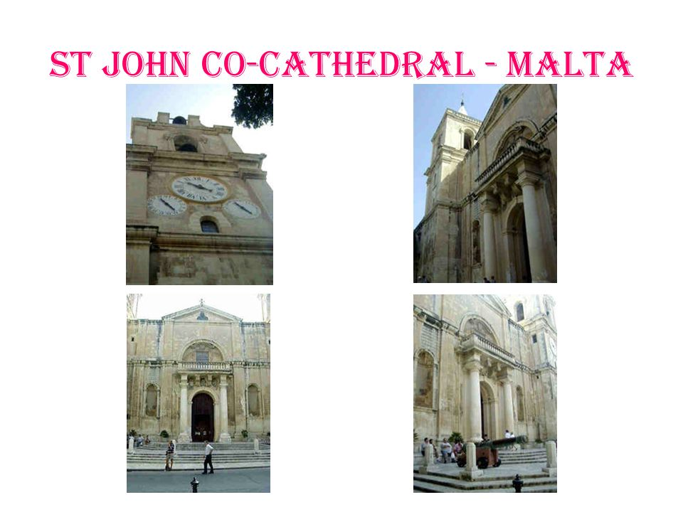 St John Co-Cathedral - Malta