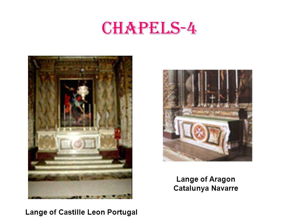CHAPELS-4 Lange of Castille Leon Portugal Lange of Aragon Catalunya Navarre