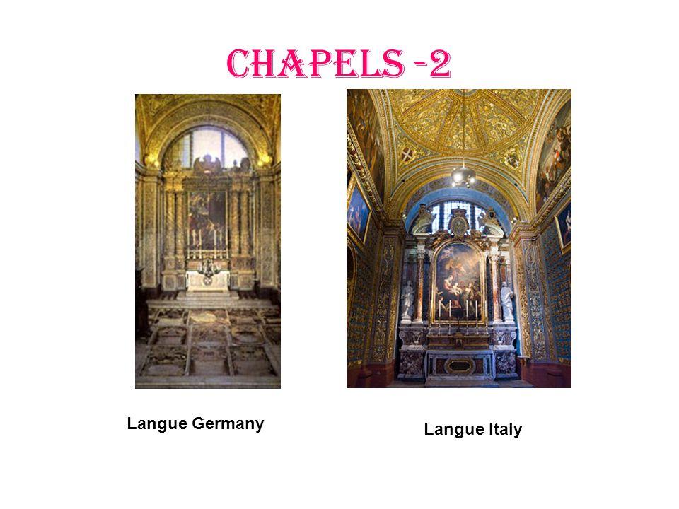 CHAPELS -2 Langue Germany Langue Italy