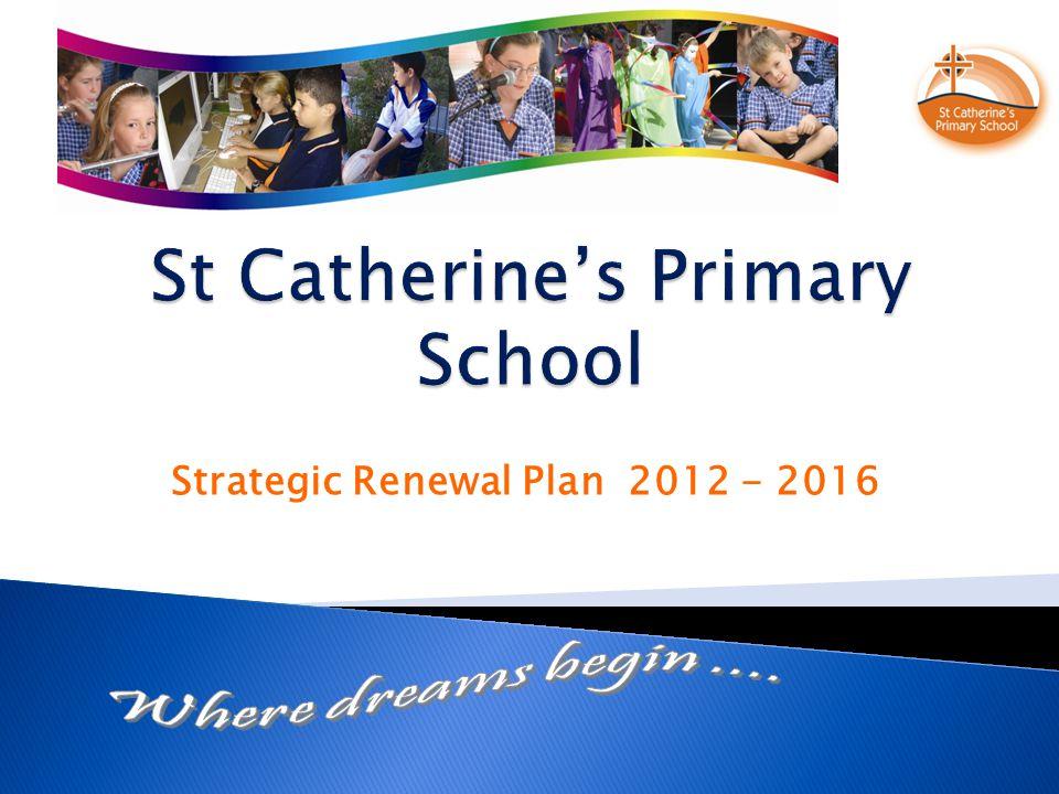 Strategic Renewal Plan 2012 - 2016