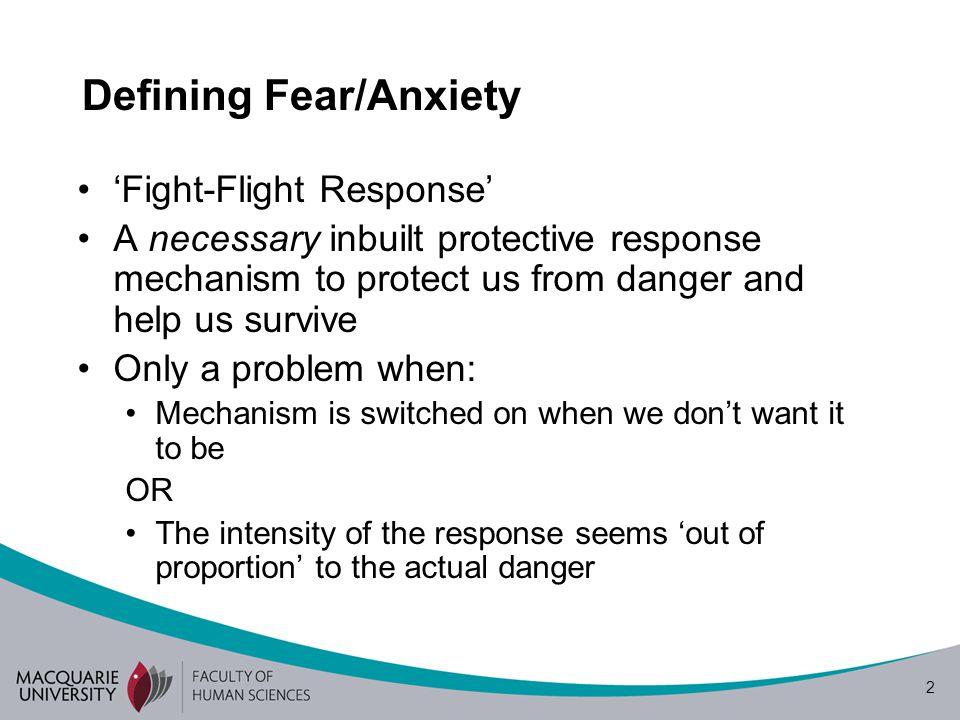 Cognitive Vulnerability Model of Phobias