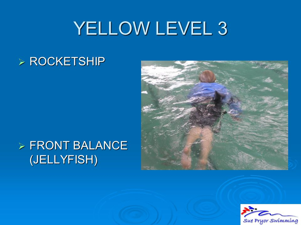 YELLOW LEVEL 3  ROCKETSHIP  FRONT BALANCE (JELLYFISH)