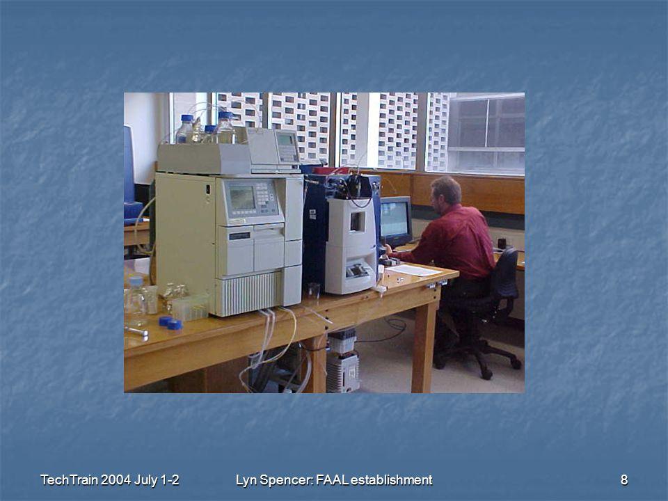 TechTrain 2004 July 1-2Lyn Spencer: FAAL establishment8
