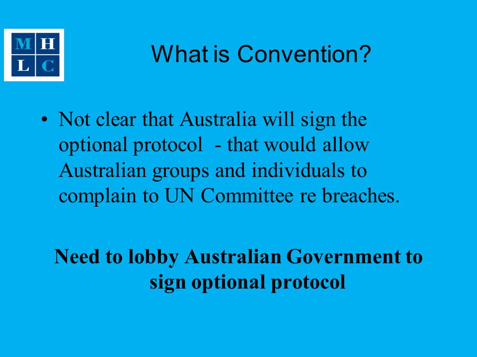 What is Convention.