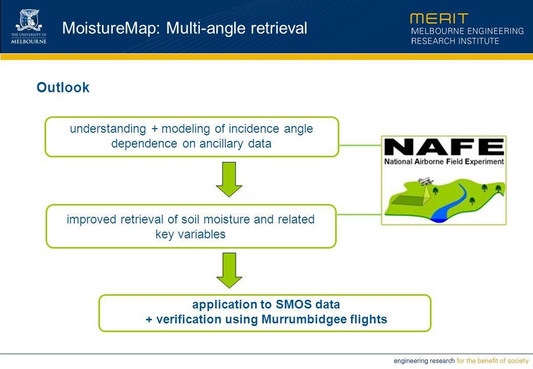 MoistureMap: Multi-angle retrieval Outlook understanding + modeling of incidence angle dependence on ancillary data improved retrieval of soil moistur