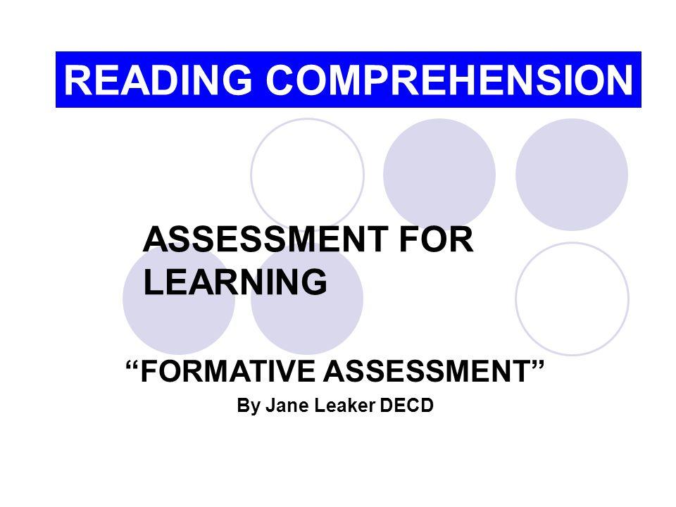 Resources Assessment Website http://www.decs.sa.gov.au/assessment/ Improving Student Achievement by Toni Glasson.