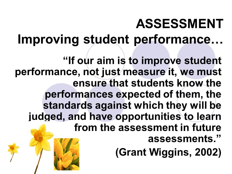 Techniques - Examples STRATEGY: Self Assessment – Goal Setting This is a powerful way to have students take responsibility for own their learning and social behaviour.
