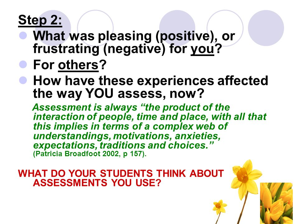 New idea… Blogging used for assessment purposes: Peers and families are able to provide feedback on student work.