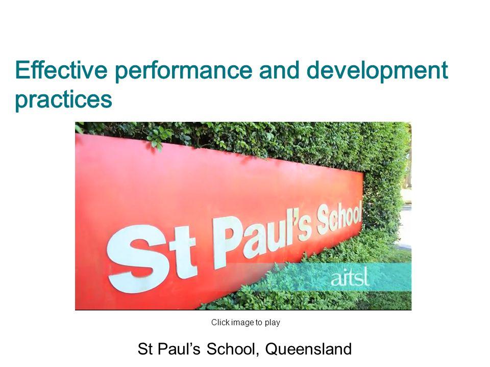 St Paul's School, Queensland Click image to play